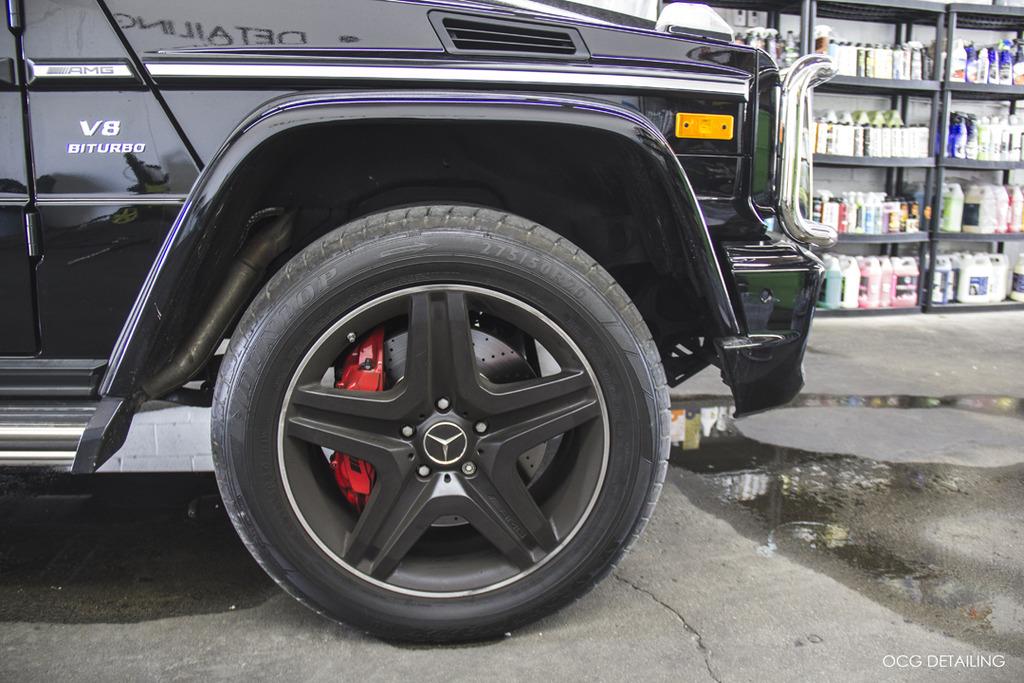 OCG Detailing: Mercedes-Benz G63 AMG - Paint Correction +